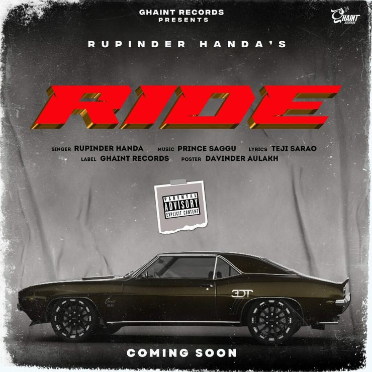 Ride Music Video (2021) Ghaint Records: Cast, Video Song, Release Date, Singers