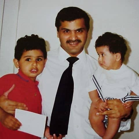 Puneet Kaur's father and brother