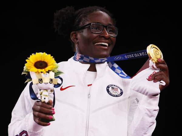 Tamyra Mensah-Stock becomes first American black woman to win…