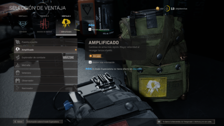 Amplified Warzone