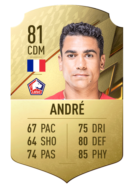 André FIFA 22 best players ligue 1