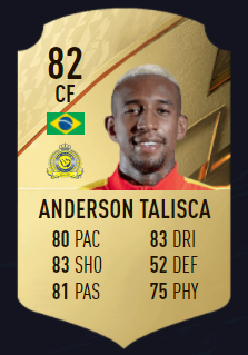 Talisca fifa 22 best attackers SD
