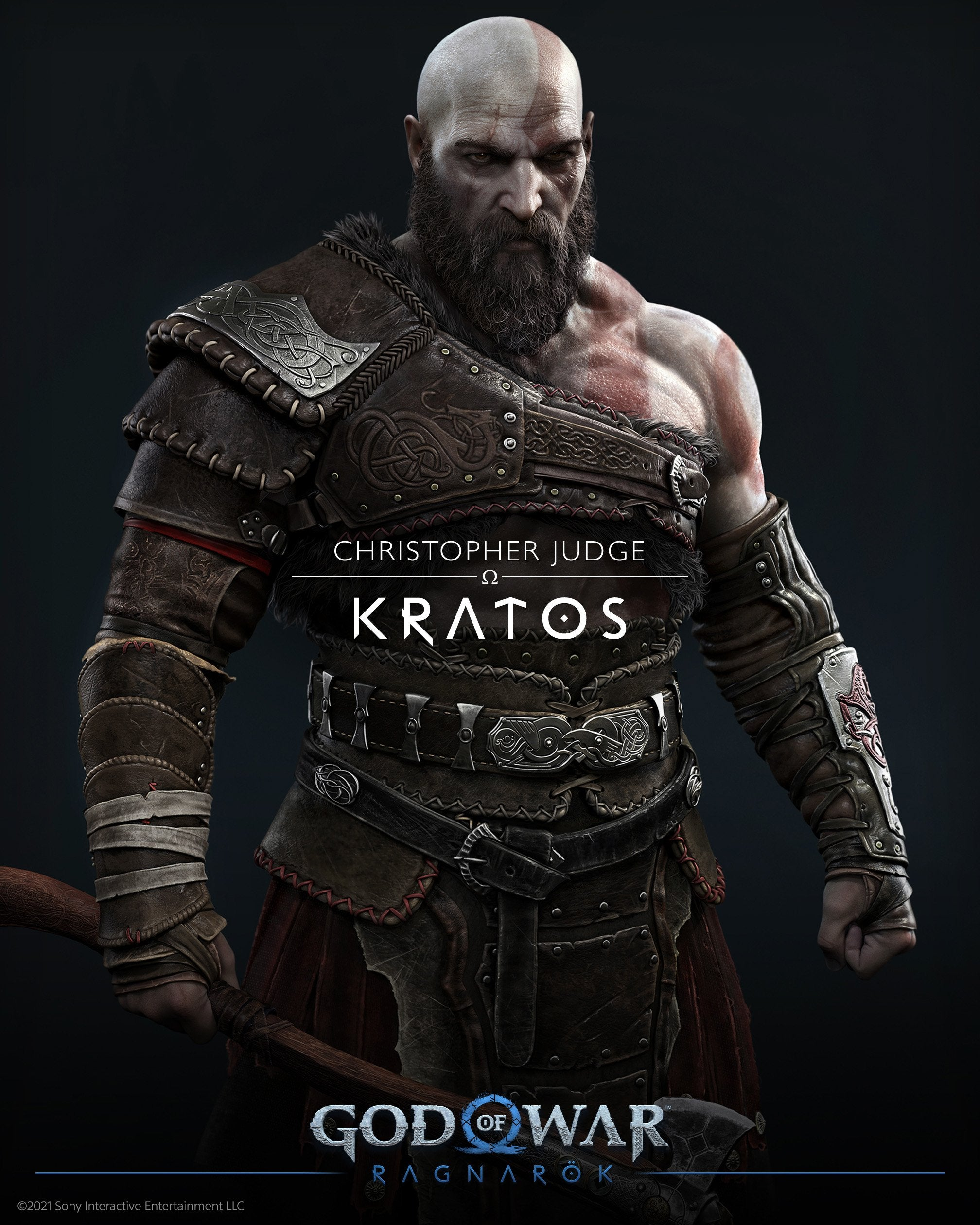 Kratos - Voiced by Christopher Judge