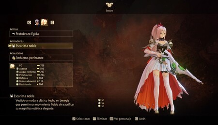 Tales of Arise weapons for Shionne