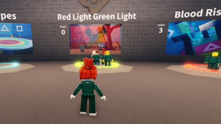 The roblox squid game