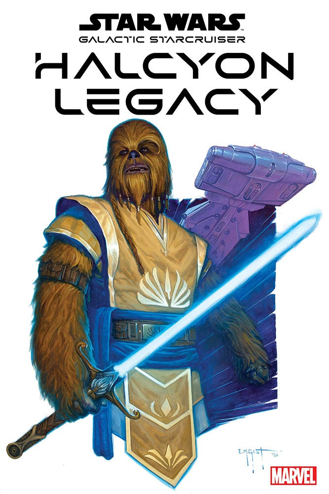 Star Wars: Halcyon Legacy #1 Cover by E.M. Gist / Image Credit: StarWars.com